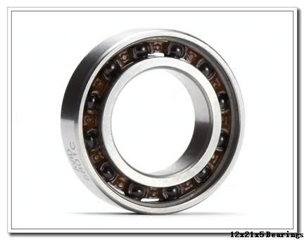 12 mm x 21 mm x 5 mm  ZEN 61801-2RS deep groove ball bearings