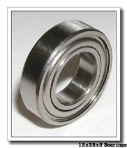 12 mm x 28 mm x 8 mm  SKF 6001-2RSH deep groove ball bearings