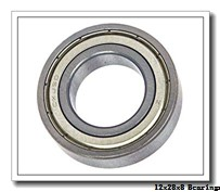 12 mm x 28 mm x 8 mm  Loyal 6001ZZ deep groove ball bearings