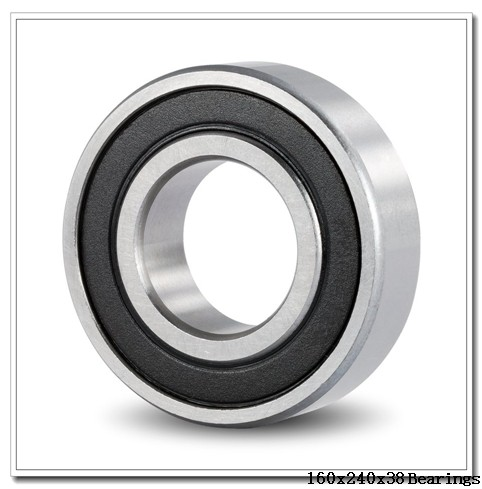 160 mm x 240 mm x 38 mm  NACHI 6032 deep groove ball bearings