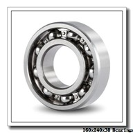 160 mm x 240 mm x 38 mm  Loyal 7032 A angular contact ball bearings
