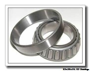 25 mm x 52 mm x 15 mm  FBJ 30205 tapered roller bearings