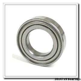 30 mm x 47 mm x 9 mm  NTN 7906 angular contact ball bearings