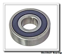 50 mm x 110 mm x 27 mm  NKE 6310-2Z deep groove ball bearings