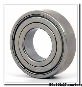 50 mm x 110 mm x 27 mm  KOYO 6310Z deep groove ball bearings