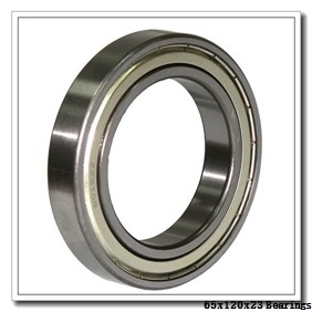 65 mm x 120 mm x 23 mm  ISO 1213K self aligning ball bearings