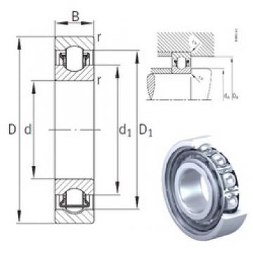 12 mm x 28 mm x 8 mm  INA BXRE001 needle roller bearings