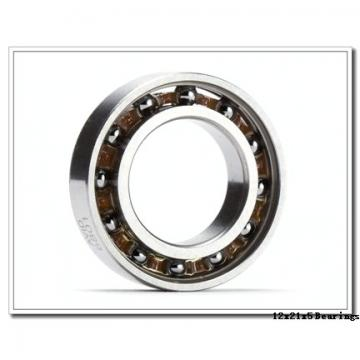 12 mm x 21 mm x 5 mm  ZEN SF61801-2Z deep groove ball bearings