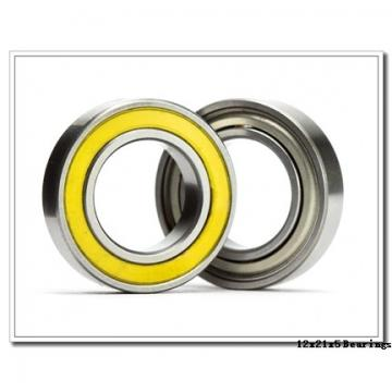 12 mm x 21 mm x 5 mm  ZEN SF61801 deep groove ball bearings