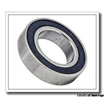 12 mm x 21 mm x 5 mm  ZEN S61801-2Z deep groove ball bearings