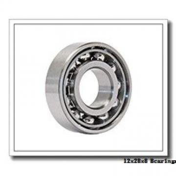 12 mm x 28 mm x 8 mm  ISB SS 6001-ZZ deep groove ball bearings