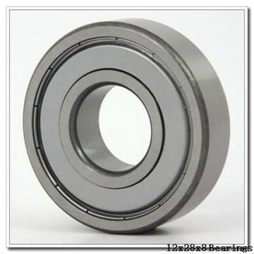 12 mm x 28 mm x 8 mm  NACHI 7001AC angular contact ball bearings