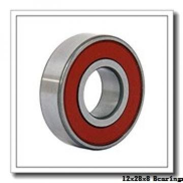 12 mm x 28 mm x 8 mm  NACHI 6001 deep groove ball bearings
