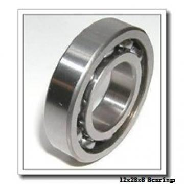 12 mm x 28 mm x 8 mm  NSK 12BGR10H angular contact ball bearings