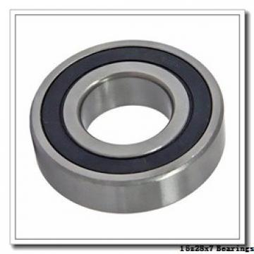 15 mm x 28 mm x 7 mm  NTN 5S-7902CDLLBG/GNP42 angular contact ball bearings