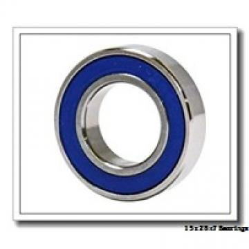 15 mm x 28 mm x 7 mm  KOYO 7902CPA angular contact ball bearings