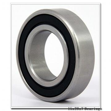 15 mm x 28 mm x 7 mm  NSK 15BGR19X angular contact ball bearings