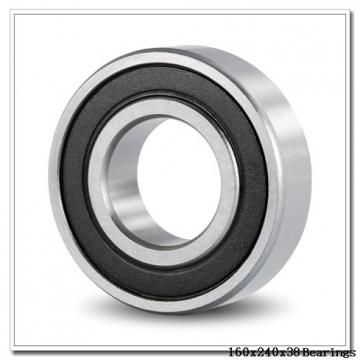 160 mm x 240 mm x 38 mm  KOYO 6032 deep groove ball bearings