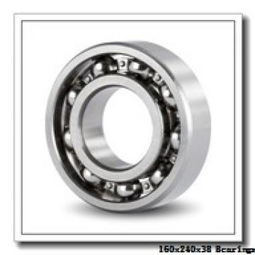 160 mm x 240 mm x 38 mm  Loyal NU1032 cylindrical roller bearings