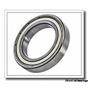 30 mm x 47 mm x 9 mm  NACHI 6906-2NSE deep groove ball bearings