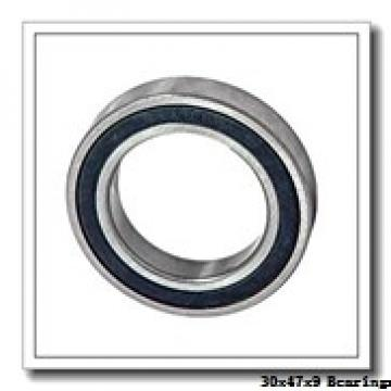 30 mm x 47 mm x 9 mm  NACHI 6906NR deep groove ball bearings