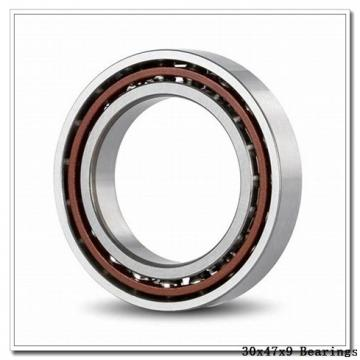 30 mm x 47 mm x 9 mm  NACHI 6906NSE deep groove ball bearings