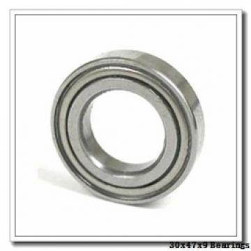 30 mm x 47 mm x 9 mm  NTN 5S-2LA-HSE906CG/GNP42 angular contact ball bearings