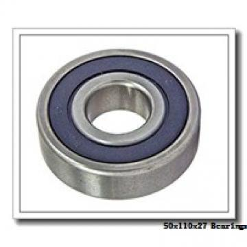50 mm x 110 mm x 27 mm  NSK NJ310EM cylindrical roller bearings