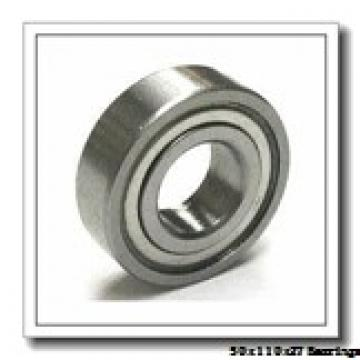 50 mm x 110 mm x 27 mm  ISO 6310-2RS deep groove ball bearings
