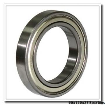 65 mm x 120 mm x 23 mm  KOYO NU213R cylindrical roller bearings
