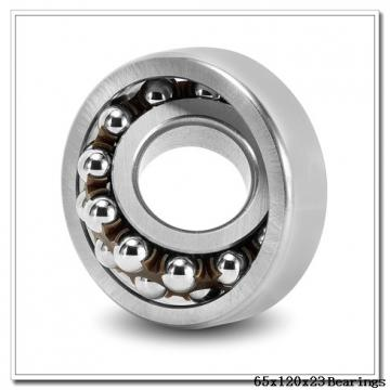 65 mm x 120 mm x 23 mm  ISB QJ 213 N2 M angular contact ball bearings