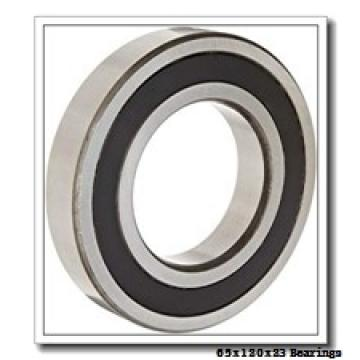 65 mm x 120 mm x 23 mm  KOYO NUP213R cylindrical roller bearings