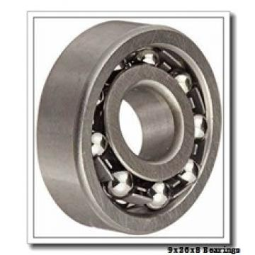9 mm x 26 mm x 8 mm  ISO 629-2RS deep groove ball bearings